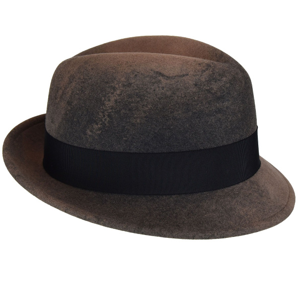 Chapeau Tino Trilby Taupe-Bailey
