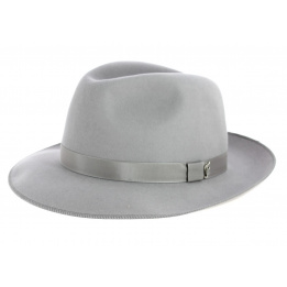 Fedora Hat Le Chazelles Felt Felt Grey Hair - Arrow