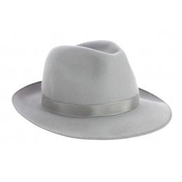 Fédora Le Chazelles Grey Felt Hat - Fléchet