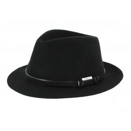 Chapeau Traveller Mans Feutre Noir- Traclet