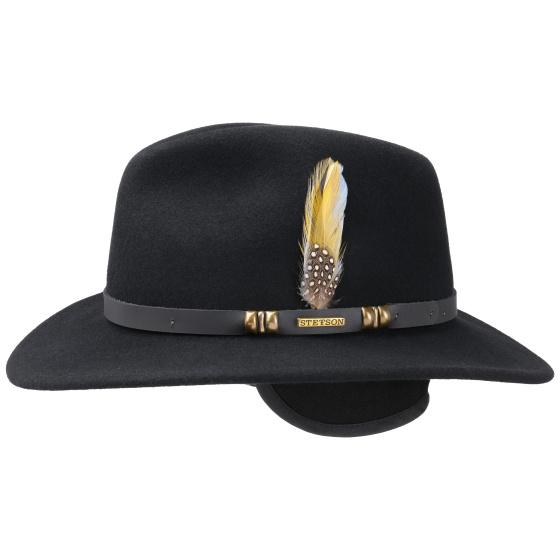 Michigan Traveller vitafelt Black hat - Stetson