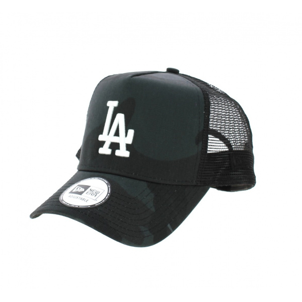 Baseball cap LA Camo Black - New Era
