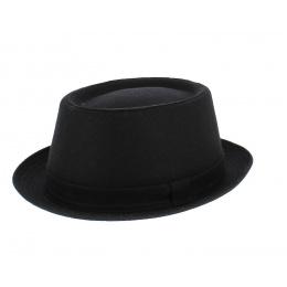 Chapeau Porkpie Noir-