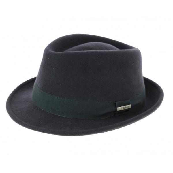 Chapeau trilby gris