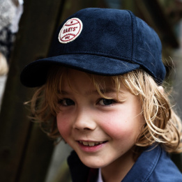 Casquette Weston Enfant Bleu Marine- Barts