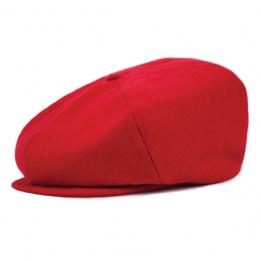 Casquette Plate Ollie Femme Rouge- Brixton