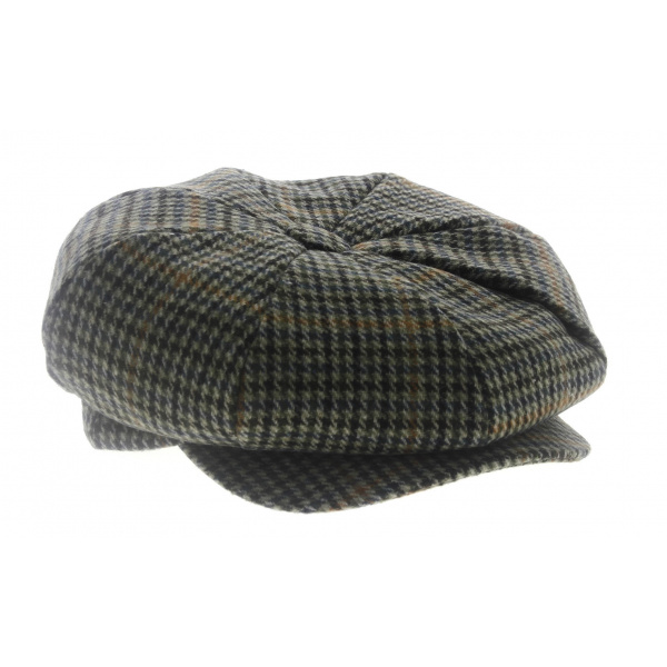 Cap Wool Prince of Wales -Traclet