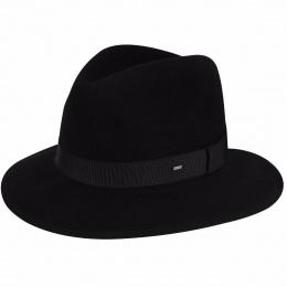 Chapeau Boss Fedora Noir- Bailey