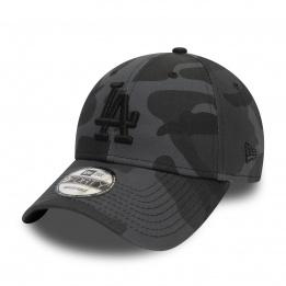 LA Dodgers Camo Essential Black Cap - New Era