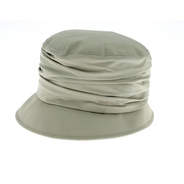 Chapeau Bob Edda de pluie beige- Gore Tex
