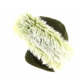 CHAMONIX TOQUE  IN FUR AND COVER  EAR