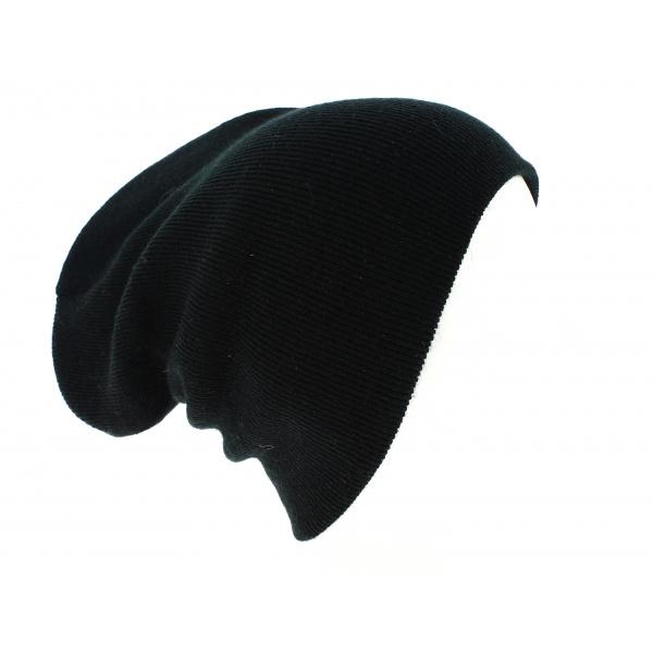 Bonnet Long Acrylique Noir - Beechfield
