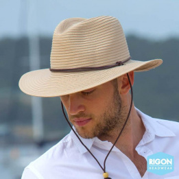Chapeau Traveller  Beige Fibres Naturelles - Rigon Headwear