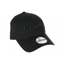 Casquette Strapback Vespa Coton Noir - New Era