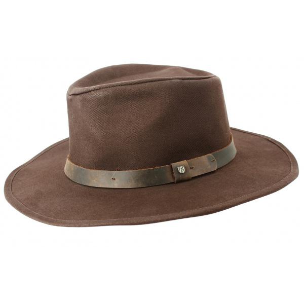 Chapeau Traveller Thorpe II Coton Marron- Brixton