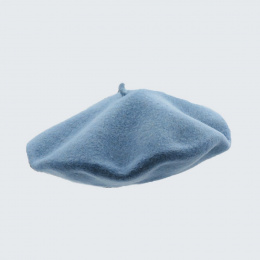 The Classic Light Blue French Beret- Le Béret Français