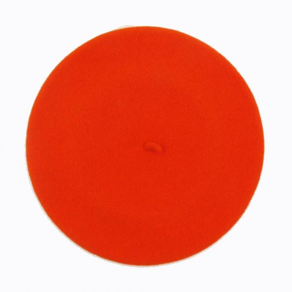Béret Classique Orange- Le Béret Français