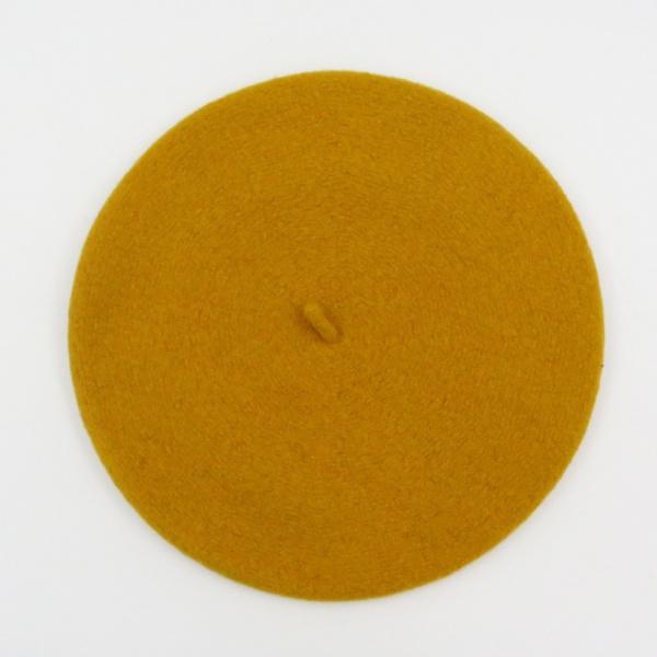 The Classic Mustard French Beret- Le Béret Français