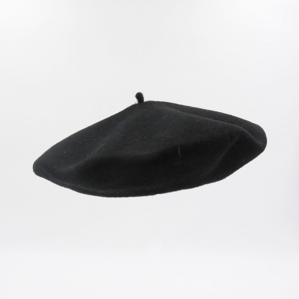 Béret Classique Noir- Le Béret Français