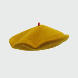 Mustard French Beret- Le Béret Français