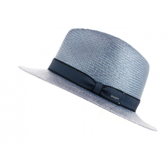 Chapeau Panama Traveller Brooks Bleu - Bailey