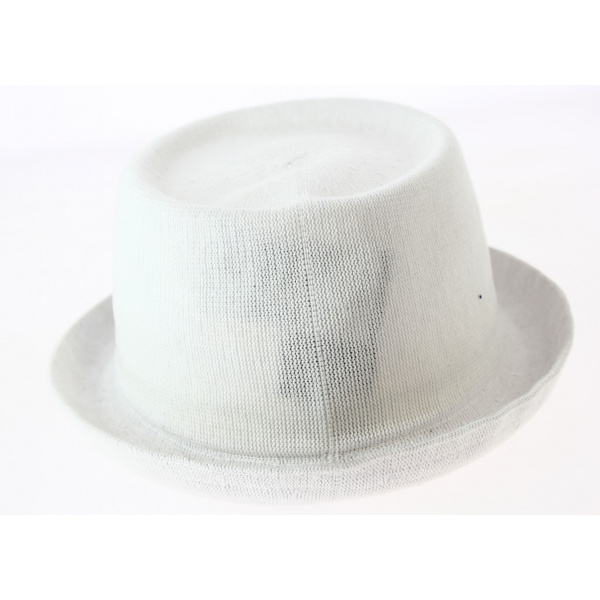 Chapeau Pokpie Bamboo Mowbray Blanc- Kangol