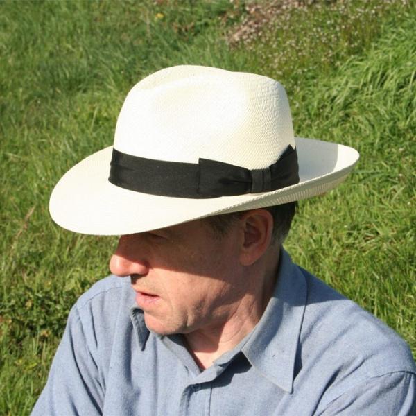 Chapeau Fedora Panama Trieste - Traclet