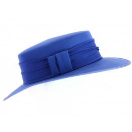 Chapeau de cérémonie Catherine Bleu