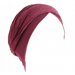 Turban Bella - Bordeaux
