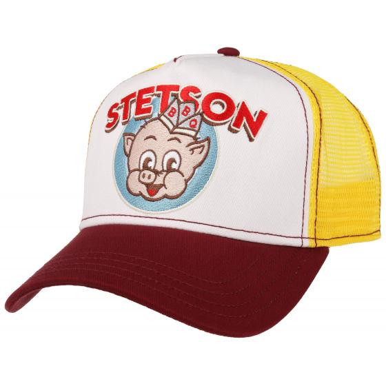Casquette Trucker BBQ Coton- Stetson