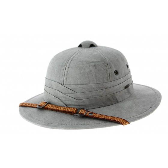 Casque Colonial Pith Gris- Stetson