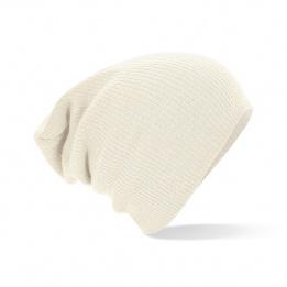Bonnet Oversize Acrylique Ecru- Beechfield