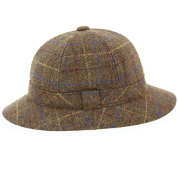 Bob Anglais Striker tweed Marron