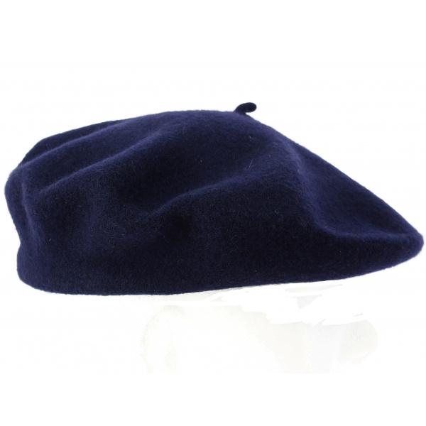 Beret bleu marine