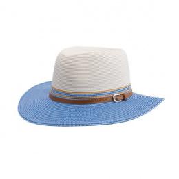 Chapeau Bella Ivoire Bleu- Emthunzini Hats
