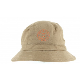 Chapeau Bob Oath Coton Camel- Brixton