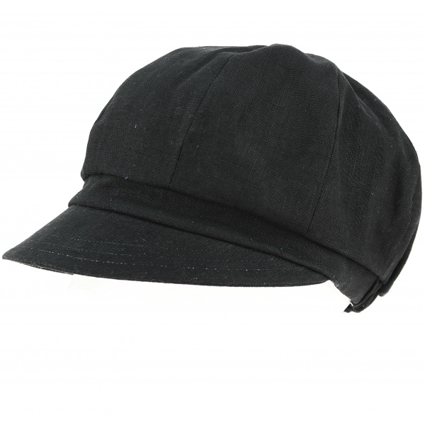 Casquette Gavroche Paola noir - Traclet