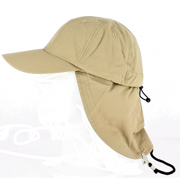 Casquette Cache Nuque Nomade Sable - Traclet