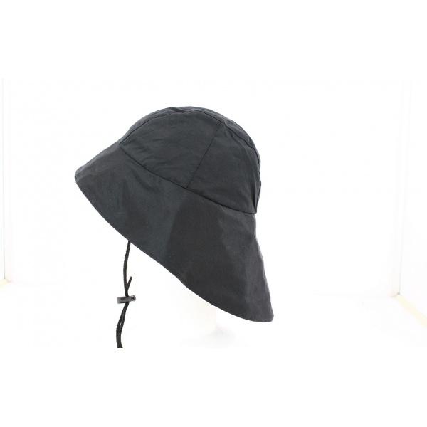 Chapeau de Pluie Renaud Noir Imperméable- Traclet