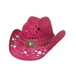 Chapeau Cowboy Femme Naughty Rose - Bullhide