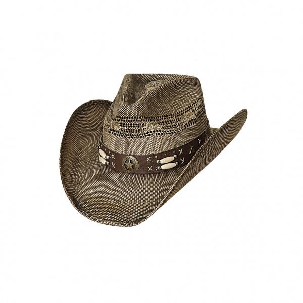 Chapeau de Cowboy Desperado Paille - Bullhide