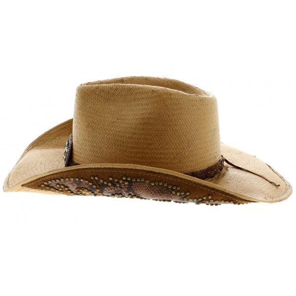 Chapeau CowBoy Cowgirl Paille  Bullhide