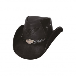 Chapeau de Cowboy Cuir KING OF THE ROAD -  Bullhide