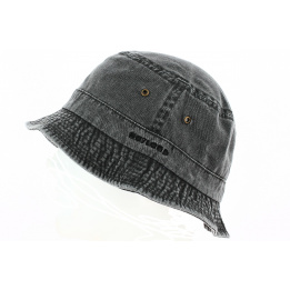 Bob Summer Fisherman Washed Black - Hatland