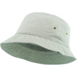 Bucket Hat Cotton Beige