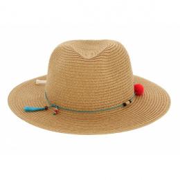 Traveller hat Magnolia turquoise trim - Barts