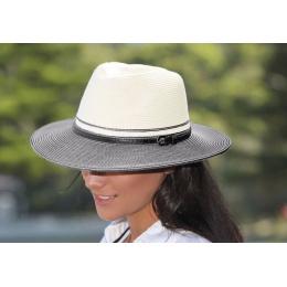 Chapeau Bella Ivoire Noir- Emthunzini Hats