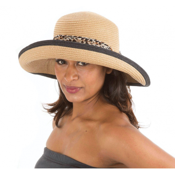 Chapeau Hepburn Naturel- Emthunzini Hats