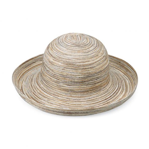 Chapeau Sydney Blanc & Camel- Emthunzini Hats