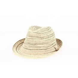 Trilby Hats Foggia Cotton Beige- Traclet